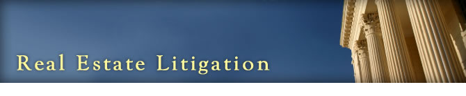 Real Estate Litigation Attorney / Lawyer in Tampa Bay